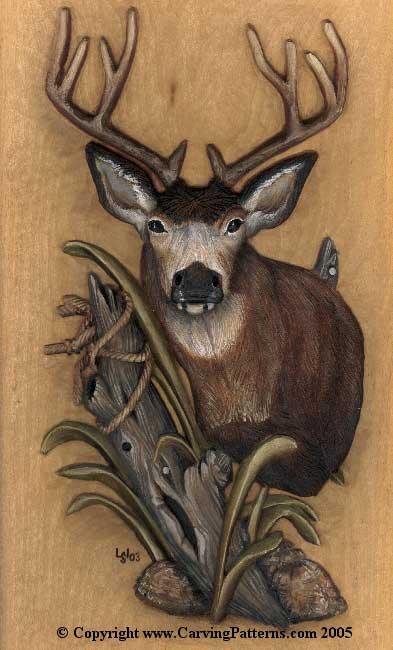 Mule Deer Relief