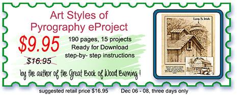 Style of Pyrography e-book by Lora Irish