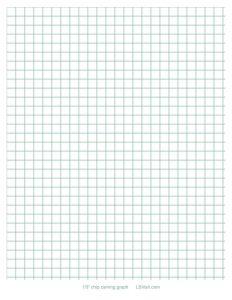 "free 1/3"" graph paper"