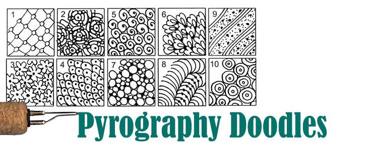Pyrography Doodles #3
