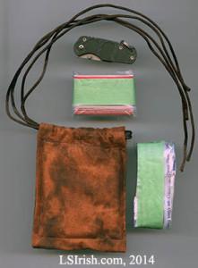 Wood Carving Walking Stick bag