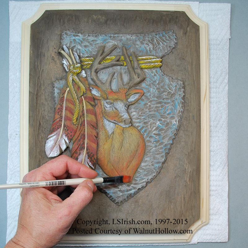 Free online relief wood carving seminar for a mule deer