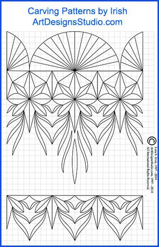 Lora Irish Chip Carving Patterns
