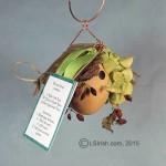 Free Craft Gourd Art Bird House Project
