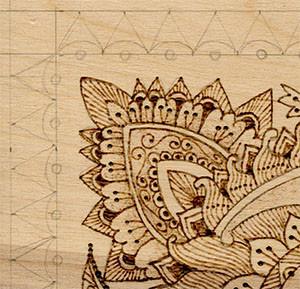 Henna Tattoo Pyrography Project