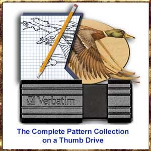 Complete Lora Irish Pattern Collection on Thumb Drive