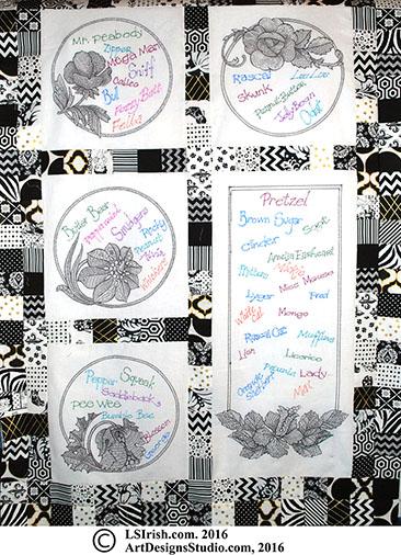 marking pen quilt