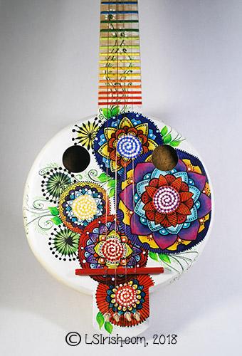 gourd art banjo
