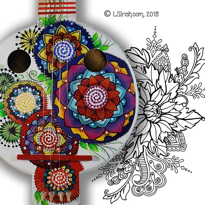 Lora S. Irish patterns