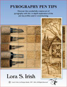 Pyrography Pen Tips by Irish